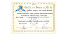 Prêmio Top Of Quality (2010)
